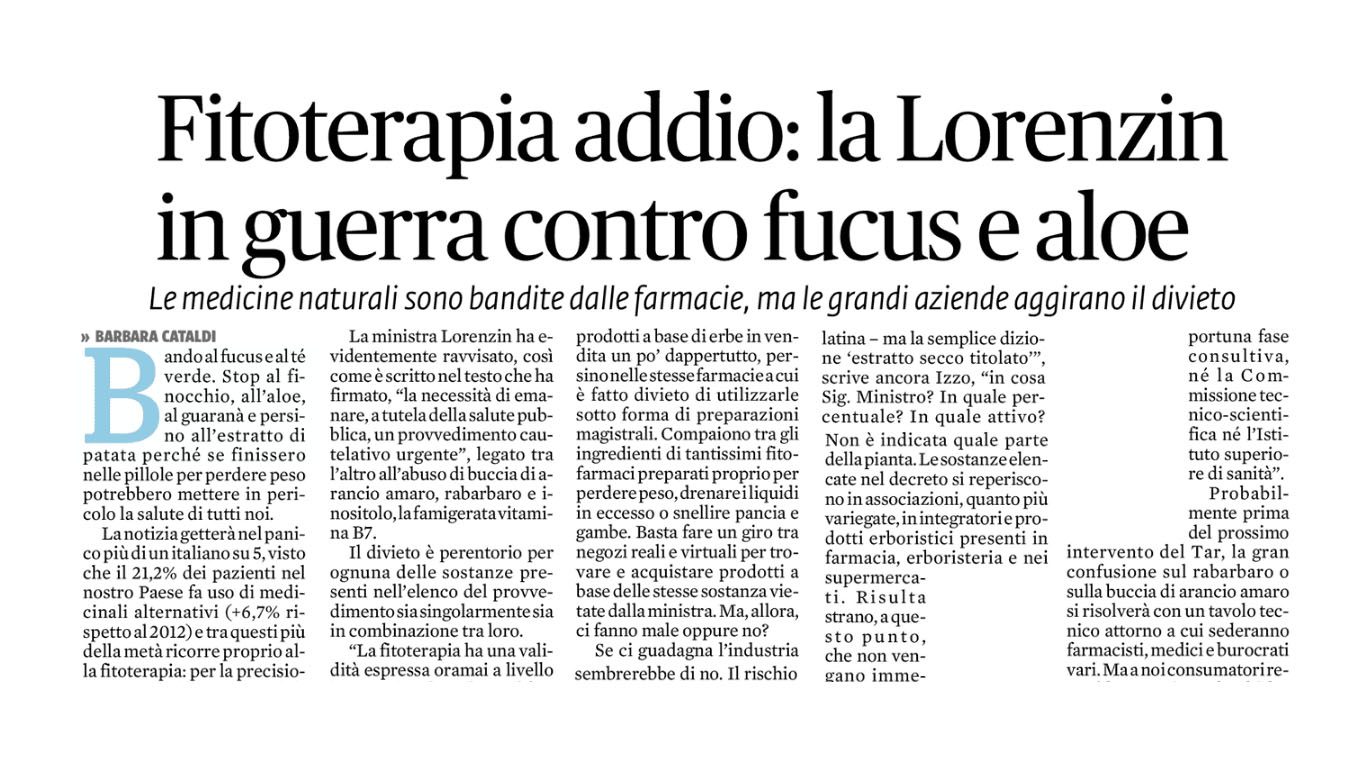 malattia business italia lorenzin
