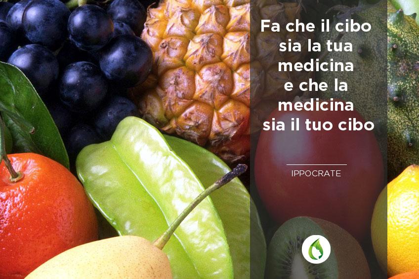 frutta e verdura come una medicina