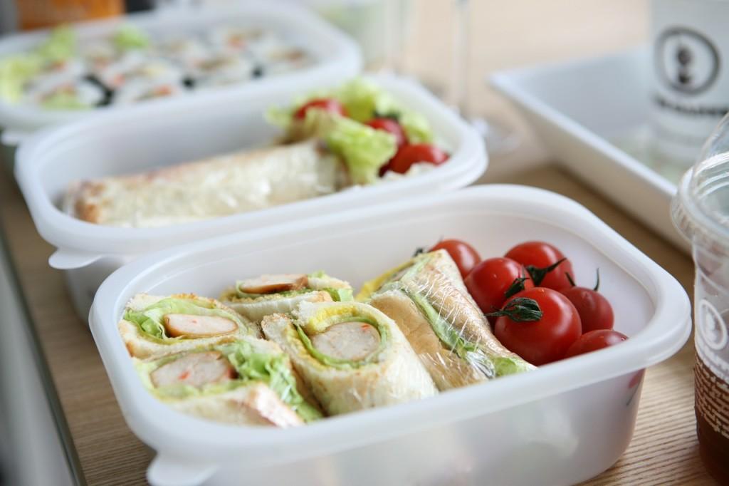 pausa pranzo alimentazione sana