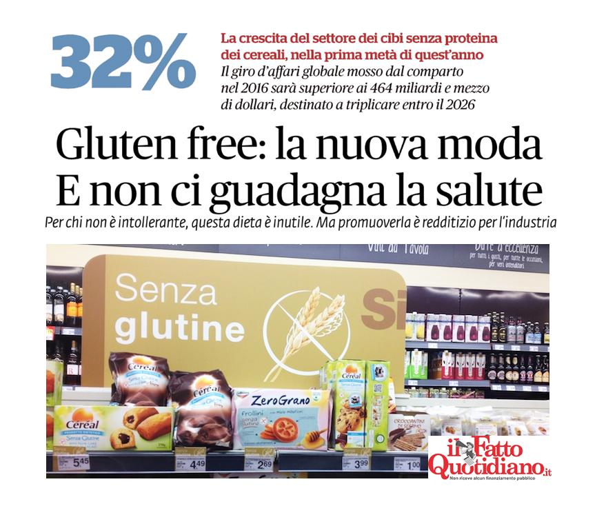 moda dieta senza glutine