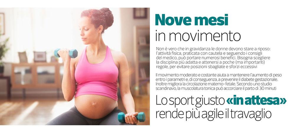 perdere peso terzo trimestre gravidanza